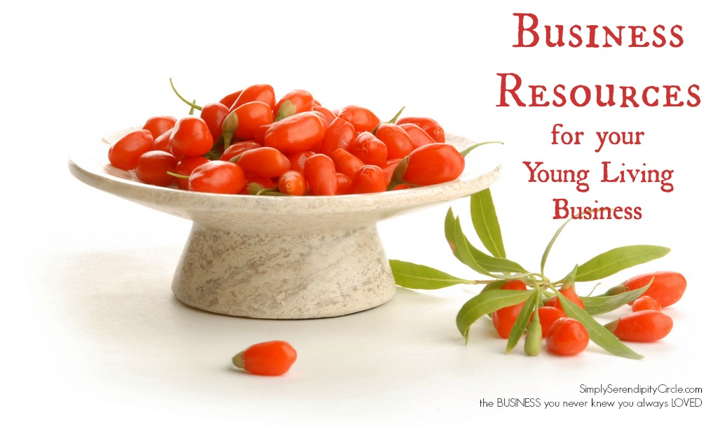 Young Living Business Resources   Simply Serendipity